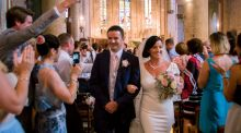 Our Wedding Story: Met in Dublin, engaged in Miami, wed in France