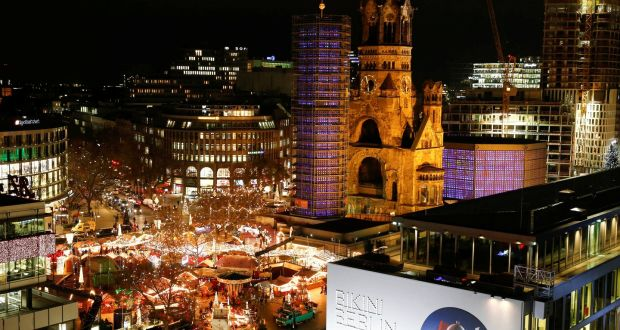 12 dead after truck driven into Christmas market in Berlin