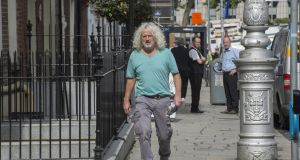 Wexford Independent TD Mick Wallace: has worked effectively as a touchstone for disaffected citizens. Photograph: Brenda Fitzsimons
