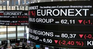 Euronext is in exclusive talks to buy LCH Group's French clearing business, Deutsche Boerse and London Stock Exchange Group Plc said on Tuesday.