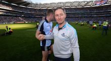 Jim Gavin: will have the opportunity to experiment in the O'Byrne Cup; Dublin's first game is on January 8th against DCU.  Photograph:  Dara MacDonaill