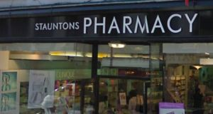 Stauntons Pharmacy in Castlebar, Co Mayo where errors were allegedly made in dosage