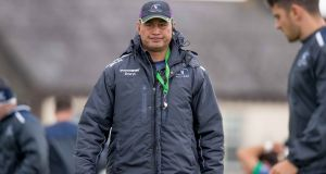 Pat Lam: Connacht had five players at Carton House last Monday