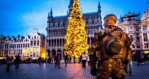 Grand-Place in Brussels: The European Commission has said steps are  needed to strengthen the border control database known as the Schengen Information System. Photograph:  Hatim Kaghat/AFP/Getty Images