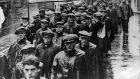 The Jarrow Crusade in Britain which in 1936 marched for the right to work