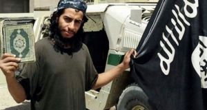Presumed mastermind behind the Paris attacks  Abdelhamid Abaaoud was said by prosecutors to have chaired a meeting the whereabouts of which were known to Redouane S. Photograph: AP