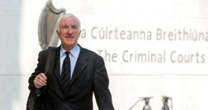 Former chief executive of Irish Life and Permanent Denis Casey was found guilty of conspiring to mislead investors. Photograph: Brenda Fitzsimons