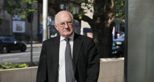Former Anglo Irish Bank executive Willie McAteer was found guilty in June of agreeing a scheme to mislead the public about the true health of Anglo. Photograph: Collins Courts