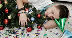 The morning after the night before: see in the new year by cutting back on alcohol, holding off on joining a gym, and making packed lunches. Photograph: iStock