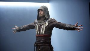 An achingly dull amalgam of science fiction and conspiracy hokum: Michael Fassbender in Assassin's Creed