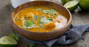 Vanessa Greenwood's haddock curry