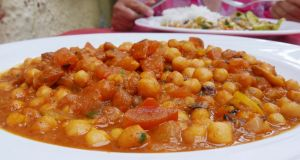 Kadala (chick pea) curry