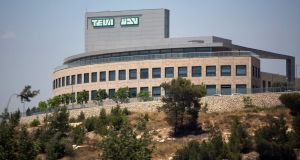 Teva will pay $519 million to settle charges that it paid bribes to foreign officials to win business in Russia, Ukraine and Mexico, the US justice department announced. Photograph:  Menahem Kahana/AFP/Getty Images