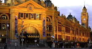Police said the suspects had planned attacks on a number of sites including Melbourne's Flinders Street train station. File photograph: Mayall/ullstein bild via Getty Images