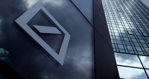 Deutsche Bank: has said it had reached a $7.2 billion (€6.9 billion) deal with US authorities. Photograph: Ralph Orlowski