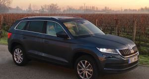 The Kodiaq hits our shores next March and the chance to rack up some serious mileage in this pivotal machine was not going to be missed.