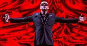George Michael in 2012 – remembered in Final Partings (RTÉ Radio 1, Friday) Photograph: David Wolff, Getty Images