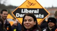 Liberal Democrat Sarah Olney, who is committed to voting against invoking article 50. Photograph: Carl Court/Getty Images