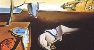 Detail of The Persistence of Memory (1931), by Salvador Dalí, who may  have suffered  from Parkinson's disease