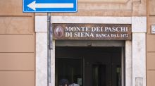 A Banca Monte dei Paschi di Siena branch in Rome. The European Central Bank says Banca Monte dei Paschi di Siena needs about €8.8 billion  to bolster its balance sheet, almost twice the amount the Italian lender had sought to raise in a failed capital increase. Photograph: Alessia Pierdomenico/Bloomberg