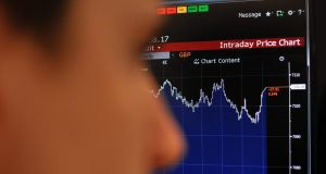 The FTSE 100 ended Wednesday at 7,106.08 points to beat a previous record of 7,103.98, set in April last year. Photograph: Daniel Sorabji/AFP/Getty Images
