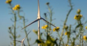 The Irish Wind Energy Association (IWEA) said new records were set over the Christmas period for wind energy generation across Ireland. File photograph: Getty Images