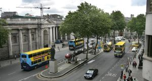 Dublin Bus drivers do not issue change on buses. If a passenger does not have the correct change to pay their fare, a bus driver will issue the passenger with a refund ticket or slip. File photograph: Matt Kavanagh