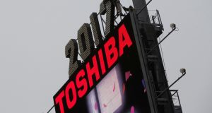 Toshiba does not plan to announce the precise size of its write-off until February. Photograph: Reuters