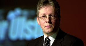 Northern Ireland's former First Minister Peter Robinson was plotting to declare an independent state. File photograph: Eric Luke/The Irish Times