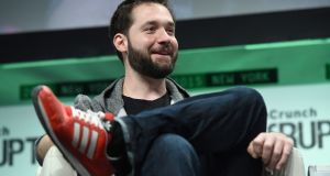 Reddit co-founder Alexis Ohanian: engaged to tennis star Serena Williams.   Photograph: Noam Galai/Getty Images