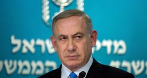"Israeli prime minister Binyamin Netanyahu: a spokesman says of the claims ""currently being published in the media . . . nothing will be found because there is nothing to uncover."" Photograph: Jim Hollander/EPA"