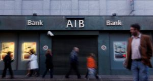 """Last year, AIB accounted for almost one in two of all summary judgment applications in the State."" Photograph: Cathal McNaughton/Reuters"