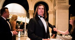 Fabio Lanzoni at Donald Trump's New Year's Eve party at the Mar-a-Lago resort in Palm Beach, Florida. Photograph: Hilary Swift/The New York Times