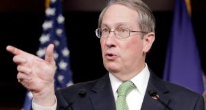 Representative Robert Goodlatte had approved a curtailment of the US Office of Congressional Ethics. Photograph: TJ Kirkpatrick/Getty Images