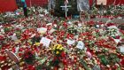 A memorial to victims of the December 19th terror attack at a Christmas market on January 3rd, 2017 in Berlin, Germany. Photograph: Sean Gallup/Getty Images