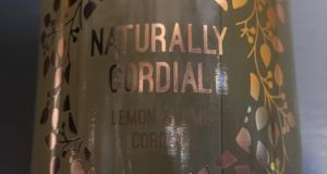 "Naturally Cordial: ""It is a gorgeously lemony cordial and has a nice tartness to it. """