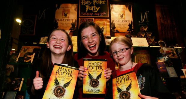Harry Potter And The Cursed Child Is Ireland S 2016 Bestseller