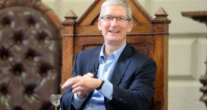 Tim Cook  declines invitation to appear at  Oireachtas finance committee to discuss the EU's ruling that the company owes Ireland more than €13 billion in back taxes. Photograph: Eric Luke
