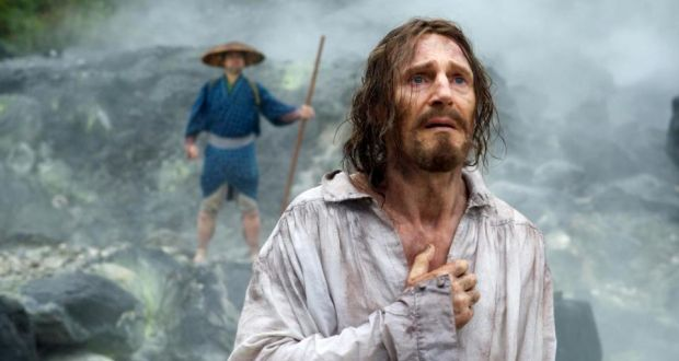 Liam Neeson in Silence by Martin Scorsese, based on the novel by Shusaku Endo.