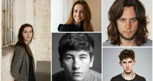 Film: (clockwise from left) Ann Skelly was first spotted at an unsuccessful call for John Carney's Sing Street; Ruth Coady has produced two films to be released in 2017, Mary Shelley and The Delinquent Season; Tadhg Murphy will be playing an IRA man for Oscar-winner John Ridley in Guerrilla; Barry Keoghan's career is set to go global, having made his name in the likes of Love/Hate; Fionn O'Shea stars in Handsome Devil, which will close close the Dublin International Film Festival in February