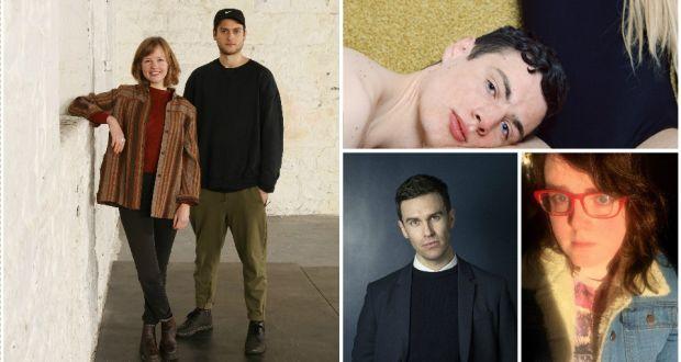 Design: (clockwise from left) Designers Hazel McCague and Jordan Ralph;  photographer Daragh