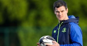 Johnny Sexton returns to action for Leinster against Zebre on Friday night. Photograph: Inpho/Tommy Dickson