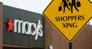 A Macy's department store in Fairfax, Virginia. Photograph: Getty Images