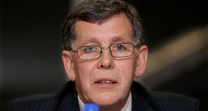 Acting president Willie O'Brien: candidate for  OCI  president. Photograph: Cathal Noonan/Inpho