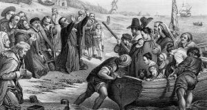 Puritans left England   in the 1620s for the New World (America) in pursuit of a religious freedom which they saw as under threat from Anglicans/Church of England. Illustration: iStock