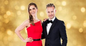 'Dancing with the Stars' presenters Amanda Byram and Nicky Byrne. Can RTÉ replicate the glitz of 'Strictly' on its version of the BBC format?