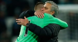 Jose Mourinho will rest goalkeeper David de Gea for Saturday's FA Cup clash with Reading. Photograph: Reuters/Eddie Keogh