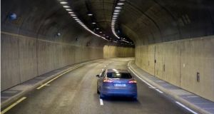 Sean O'Neill of Transport Infrastructure Ireland  suggested the new anti-speeding measure would help maintain the safety record of Dublin's Port Tunnel (above). File photograph: Getty Images