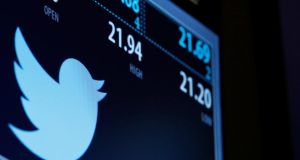 "Twitter  trading  on the New York Stock Exchange: ""People now scoff at Twitter's inability to pivot or diversify or evolve or monetise or find a workable business model."" Photograph: Reuters/Brendan McDermid"