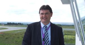 "The managing director at Ireland West Airport, Joe Gilmore: says the record passenger numbers is ""good news"" for the regional economy"